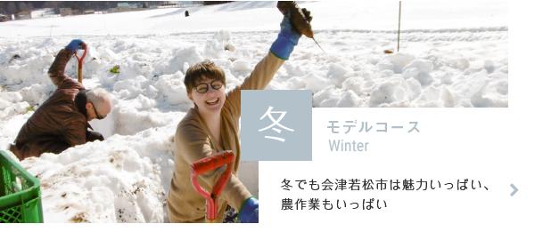 モデルコース冬